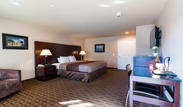 Spacious 1 King Standard Guestroom