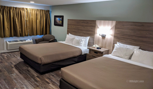 Yosemite Hotel Pictures - QQ Standard Queen Beds